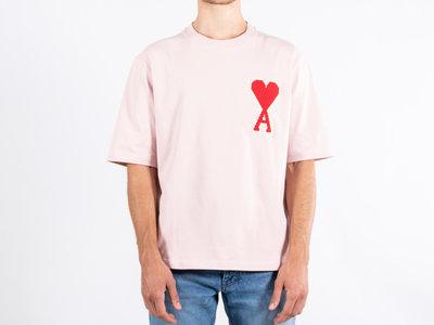 Ami Ami T-shirt / H19J137.701 / Pink