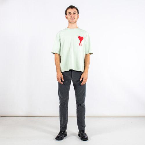 Ami Ami T-shirt / H19J137.701 / Lichtgroen