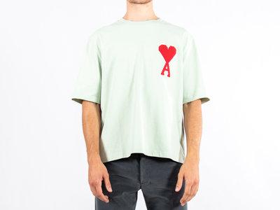 Ami Ami T-shirt / H19J137.701 / Light Green