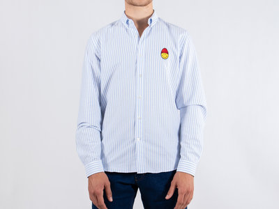 Ami Ami Overhemd / SMIC015.402 / Blauw