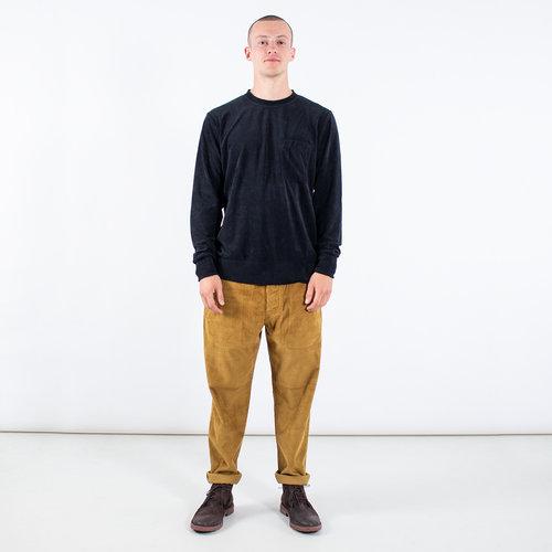 Universal Works Universal Works Trui / Loose Pullover / Zwart