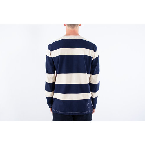 Universal Works Universal Works T-shirt / Long Sleeve Tee / Navy