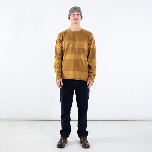 Universal Works Universal Works T-shirt / Long Sleeve Tee / Yellow