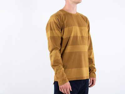 Universal Works Universal Works T-shirt / Long Sleeve Tee / Yellow