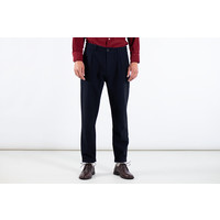 Universal Works Trousers / Pleated Pant / Indigo