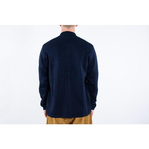 Universal Works Universal Works Cardigan / Knit Work Jacket / Navy