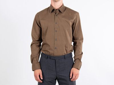 Strellson Strellson Overhemd / Sander / Bruin