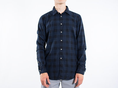 7d 7d Overhemd / Fourty-Four Check / Navy