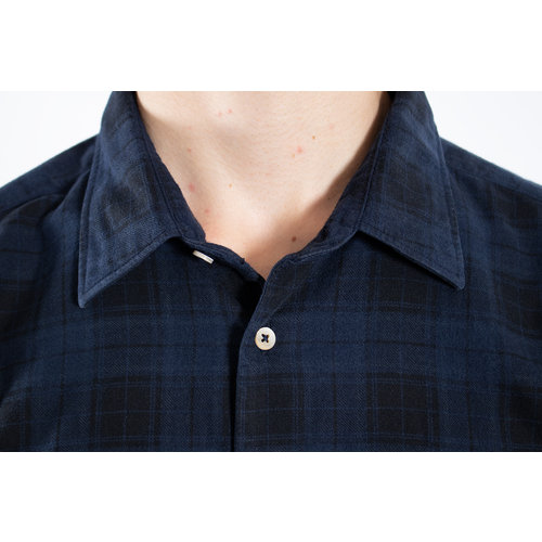 7d 7d Shirt / Fourty-Four Check / Navy