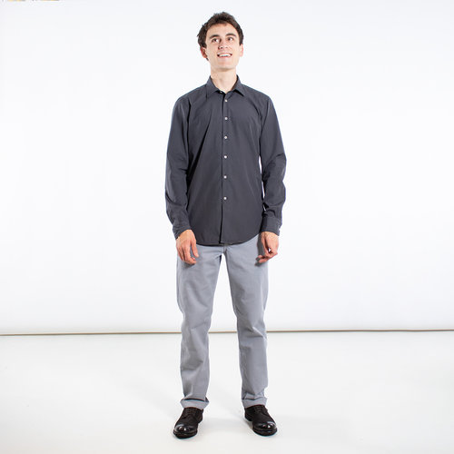 7d 7d Overhemd / Fourty-Four Pop / Donkergrijs
