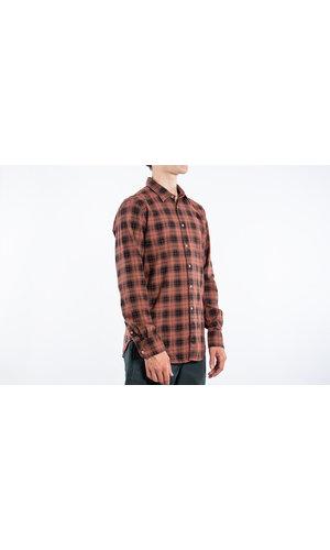 7d 7d Overhemd / Fourty-Four Check / Koper / L