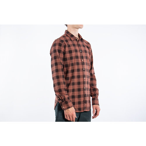 7d 7d Shirt / Fourty-Four Check / Copper
