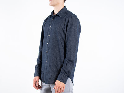 7d 7d Shirt / Fourty-Four Flannel / Navy