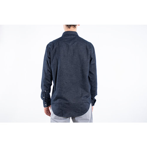 7d 7d Overhemd / Fourty-Four Flannel / Navy
