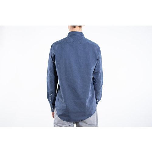 7d 7d Overhemd / Fourty-Four Broken / Blauw