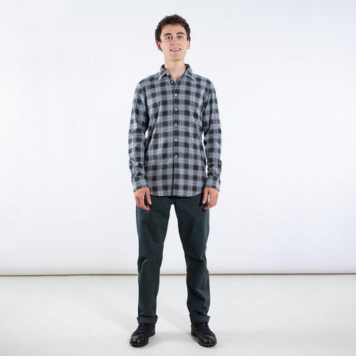 7d 7d Overhemd / Fourty-Four Check / Grijs