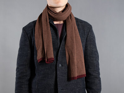Hannes Roether Hannes Roether Scarf / Brown
