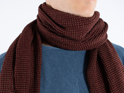 Hannes Roether Hannes Roether Shawl / Slope / Bruin
