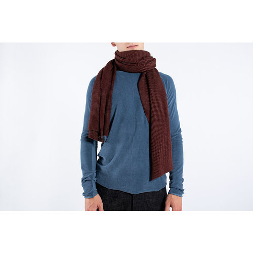 Hannes Roether Hannes Roether Scarf / Slope / Brown