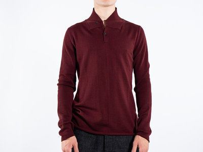 Hannes Roether Hannes Roether Sweater / Helger / Burgundy