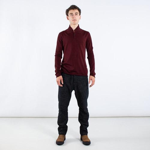 Hannes Roether Hannes Roether Sweater / Helger / Burgundy