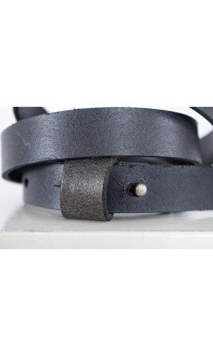 Anglo Riem / Druksluiting buckle / Grijs