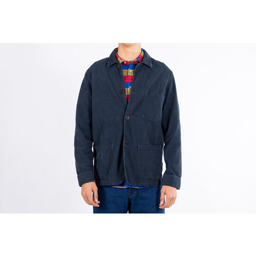 Portuguese Flannel Portuguese Flannel Jack / Labura Corduroy / Blauw
