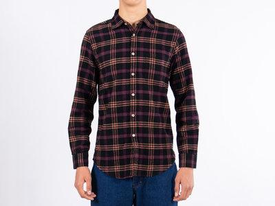 Portuguese Flannel Portuguese Flannel Overhemd / Compact / Bordeaux