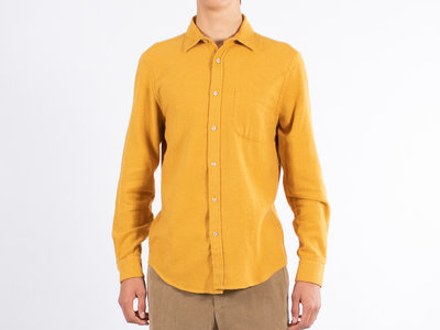Portuguese Flannel Portuguese Flannel Overhemd / Teca / Mosterd Geel