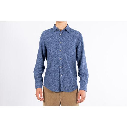 Portuguese Flannel Portuguese Flannel Overhemd / Mogno / Blauw