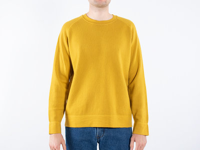 Mc Lauren Mc Lauren Sweater / Lover / Geel