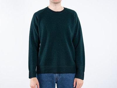 Mc Lauren Mc Lauren Sweater / Lover / Flessengroen