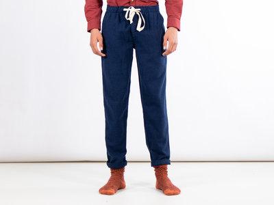 Portuguese Flannel Portuguese Flannel Trousers / Pajama Trousers / Blue