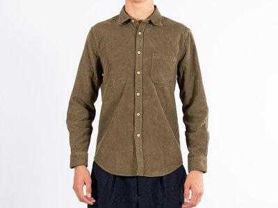 Portuguese Flannel Portuguese Flannel Overhemd / Lobo ESP / Groen