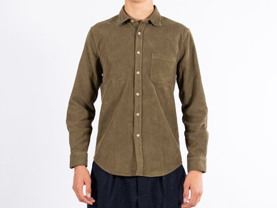 Portuguese Flannel Portuguese Flannel Shirt / AW19096.LS / Green