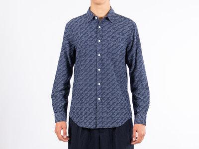 Portuguese Flannel Portuguese Flannel Overhemd / 30's / Blauw