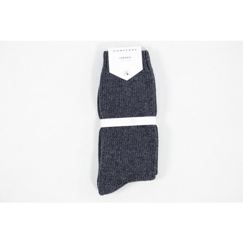 Homecore Homecore Sok / Wool Socks / D. Grijs