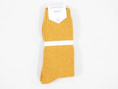 Homecore Homecore Sok / Wool Socks / Geel