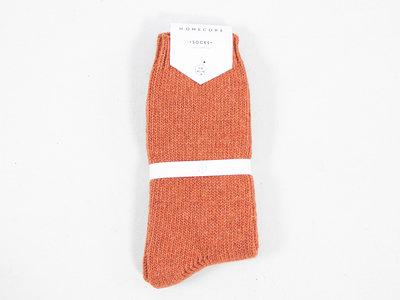 Homecore Homecore Sock / Wool Socks / Rust