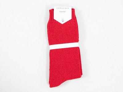 Homecore Homecore Sok / Wool Socks / Rood