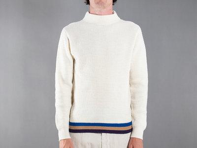 Mc Lauren Mc Lauren Sweater / Wafledmok / Ecru