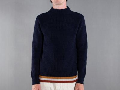 Mc Lauren McLauren Sweater / Wafledmok / Navy