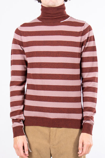 Mauro Grifoni Mauro Grifoni Turtle Neck / GF110099C.49 / Red Pink