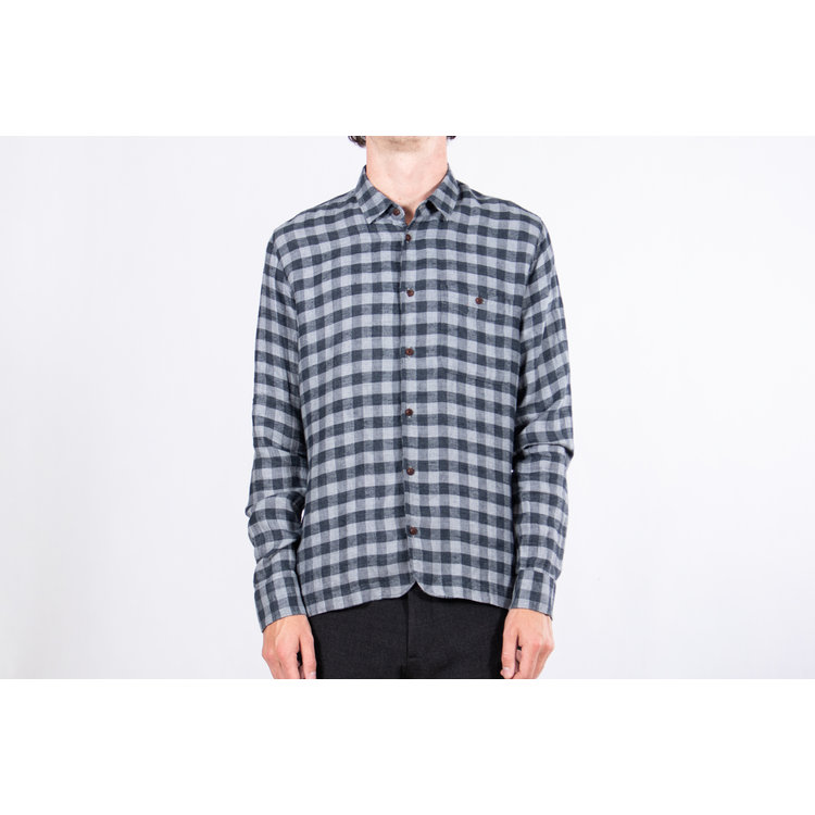 Delikatessen Delikatessen Overhemd / Strong Shirt / Grijs