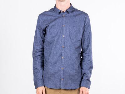 Delikatessen Delikatessen Overhemd / Proper Shirt / Navy