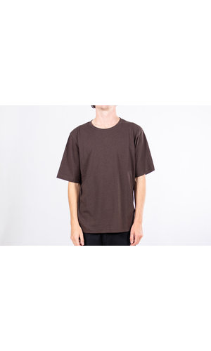 Resterods T-shirt / Mid Sleeve Solid / Bruin