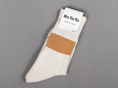 RoToTo RoToTo Sock / Classic Crew / Brown