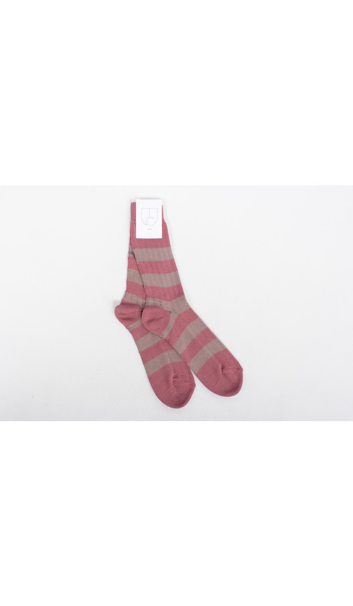 c r i s Sock / Rugby / Raspberry