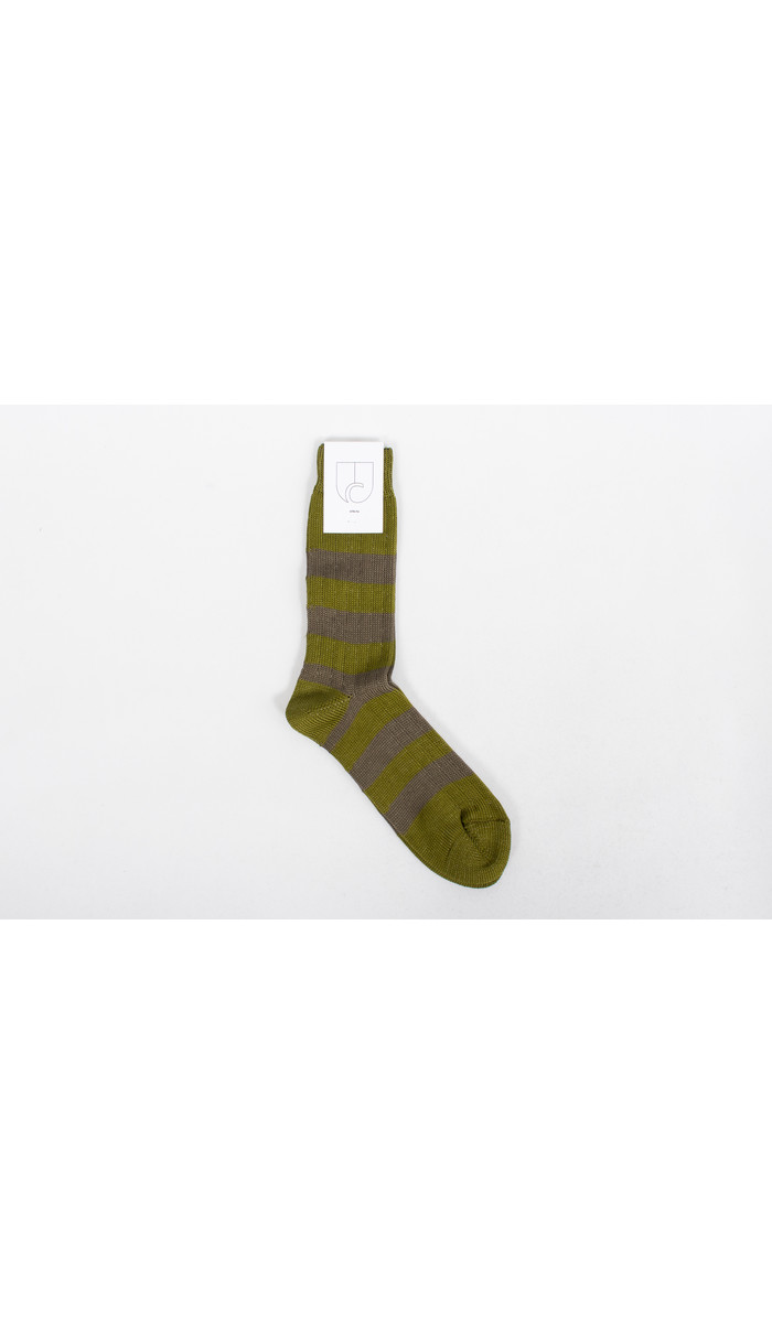 c r i s Sock / Rugby / Olive