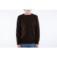 G.R.P. Firenze Sweater / Bottoni Laterali / Brown